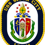USS Sioux City Crest Unveiled at Siouxland Chamber of Commerce Annual Dinner – Merchandise For Sale