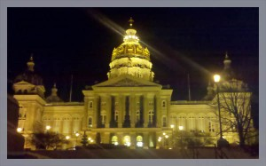 iowa capitol by tr