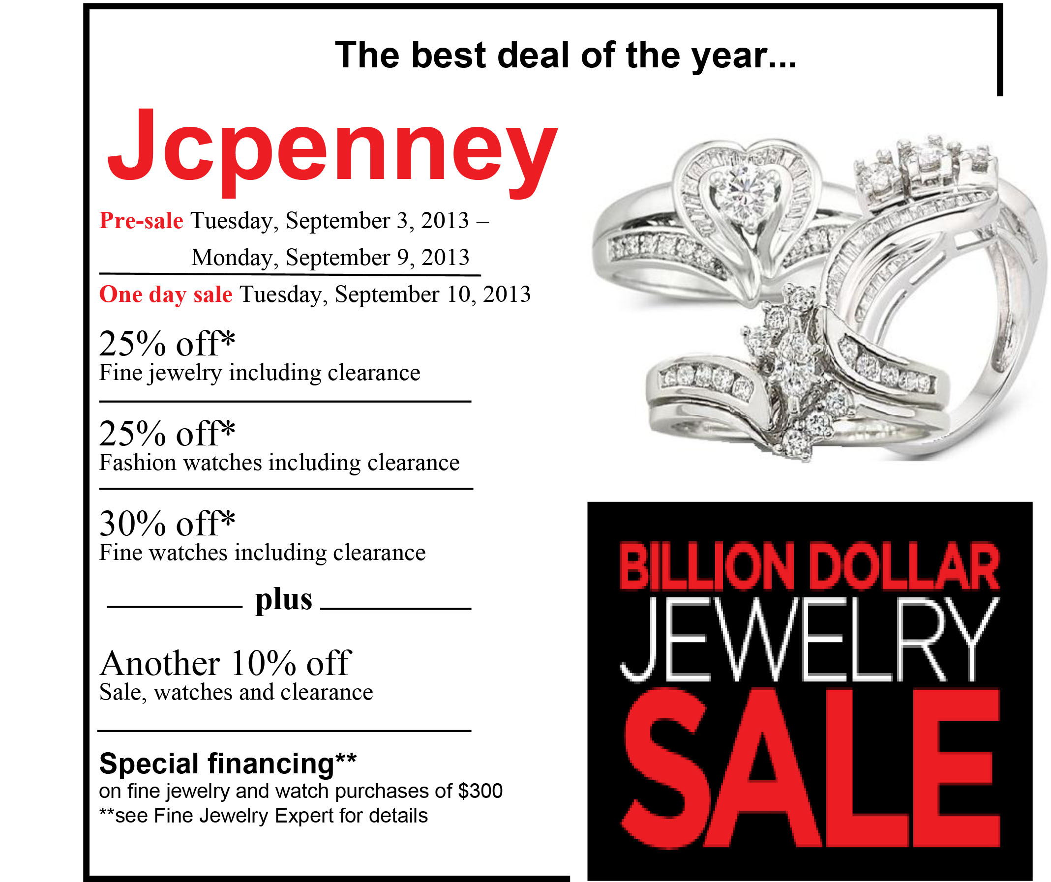 Jcpenney fine jewelry coupons